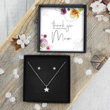Star Necklace & Earrings - Mum Thank You