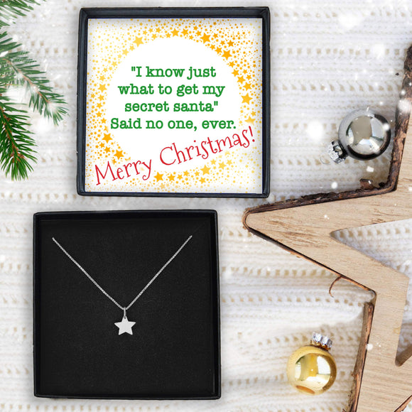 Star Necklace- Secret Santa I Know Just What To Get