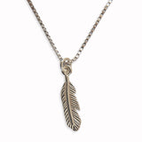 Feather Necklace - Happy Birthday...... ANY NAME