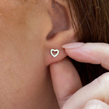 CHOOSE AGE - Heart Earrings - Happy Birthday
