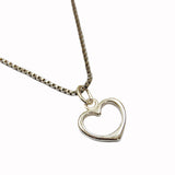 Heart Necklace - Thank You For Everything ANY NAME