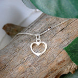 Heart Necklace - Thank You For Being Our Bridesmaid / Flower Girl / Maid Of Honour
