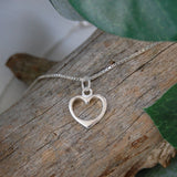 Heart Necklace - Merry Christmas CHOOSE RECIPIENT