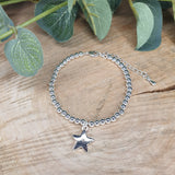Beaded Bracelet Star - Secret Santa I Know Just What To Get