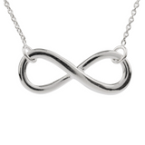 Infinity Necklace - Strength Hope Courage