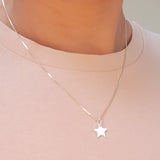 Star Necklace- Secret Santa Merry Christmas