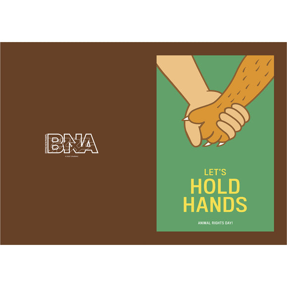 BNA クリアファイル LET'S HOLD HANDS