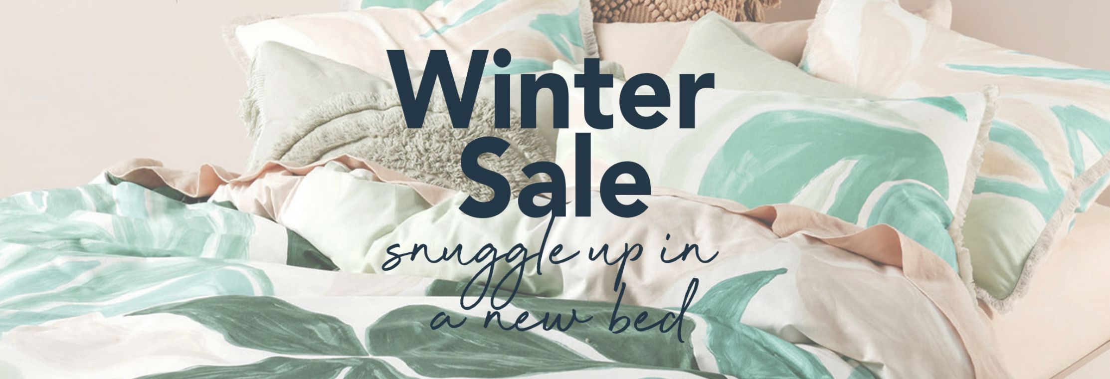 Best in Beds Winter Sale Now On Snuggle up in a new bed