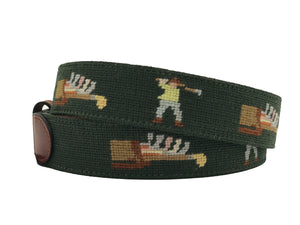 Spring Golf and Great Needlepoint Belt to Capture the Spirit