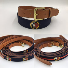 Saugahatchee Country Club Logo Belts