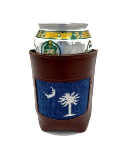 S.C. State Flag Palmetto Moon Koozie