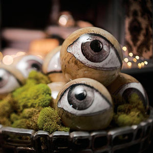 Eyeball Orbs, Set of Eight