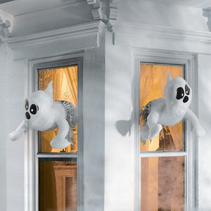 Expressive Window Crasher Ghosts, Set of Three