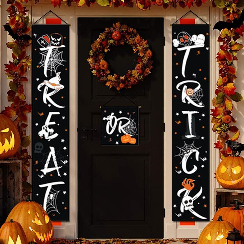 Halloween Porch Banner Decoration