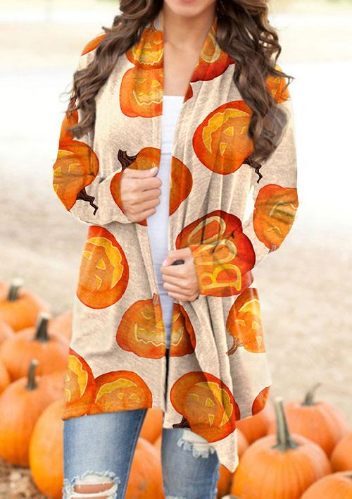 Women's Halloween Series Printed Cardigan
