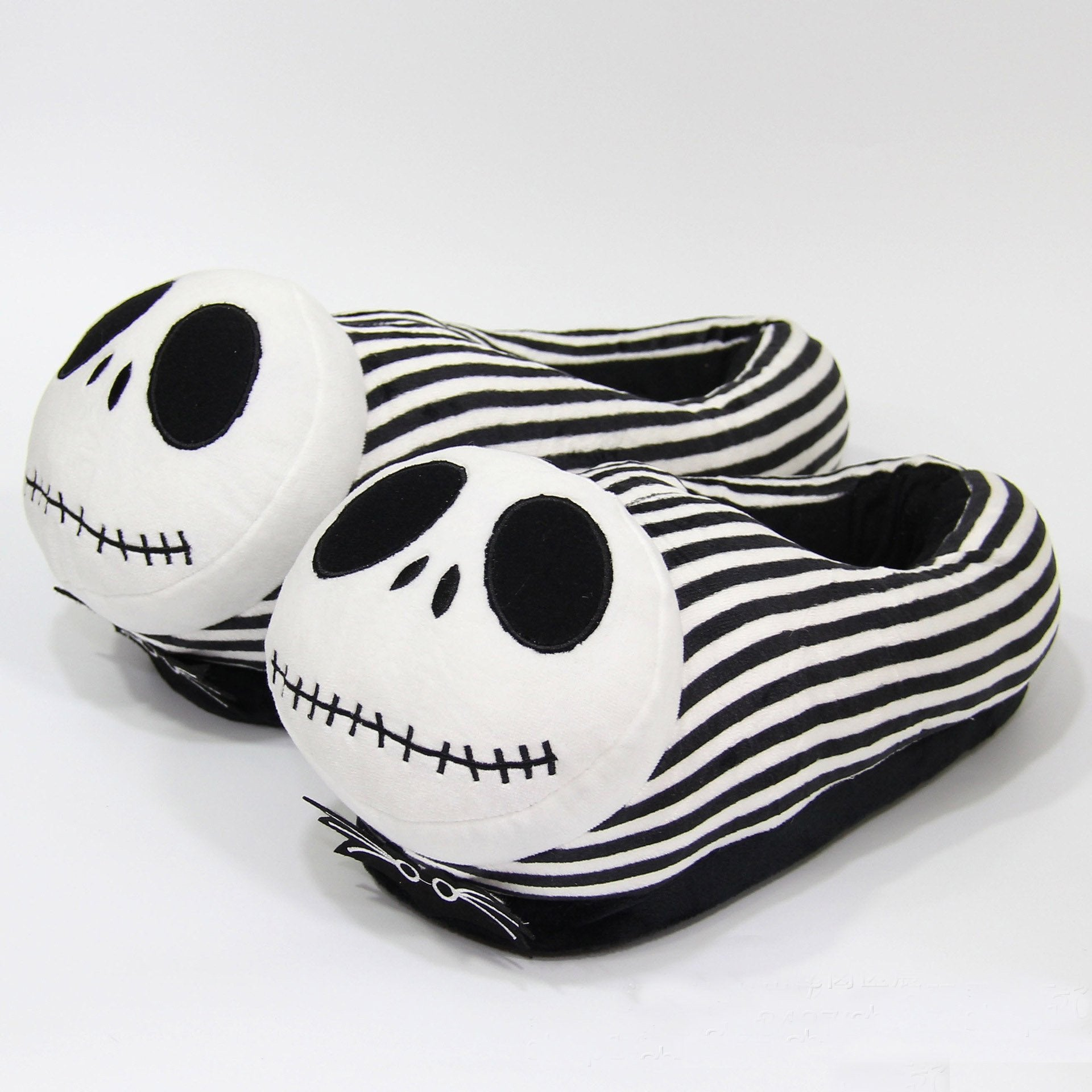 Halloween Pumpkin Prince Skull Monster Jack Plush All-inclusive Slippers