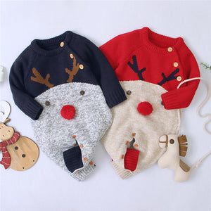 2020 New Winter Christmas Newborn Baby Clothes