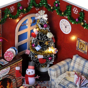 Christmas Sitting Room DIY