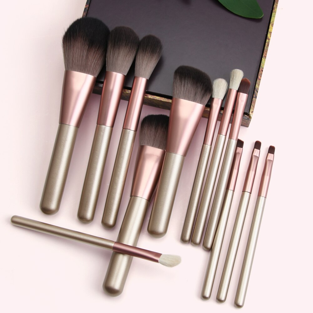 MAANGE 10/11/12pcs/set makeup brushes set for cosmetic foundation powder blush eyeshadow blending make up brush beauty tool Kits