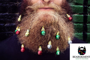 Beard Ornaments Christmas Ornament Pack of 12