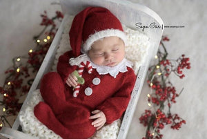 Newborn christmas outfit