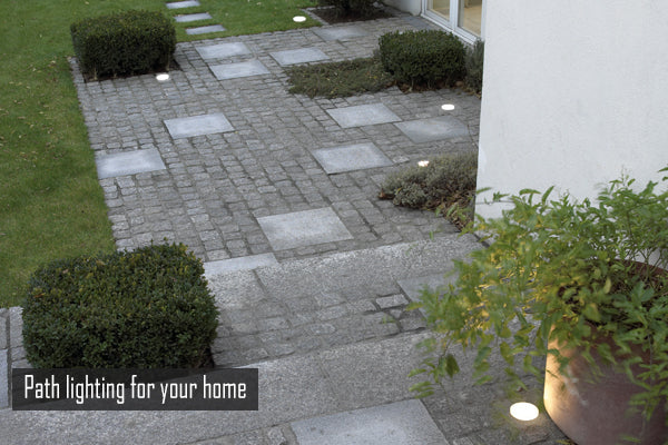 Path lighting for your home