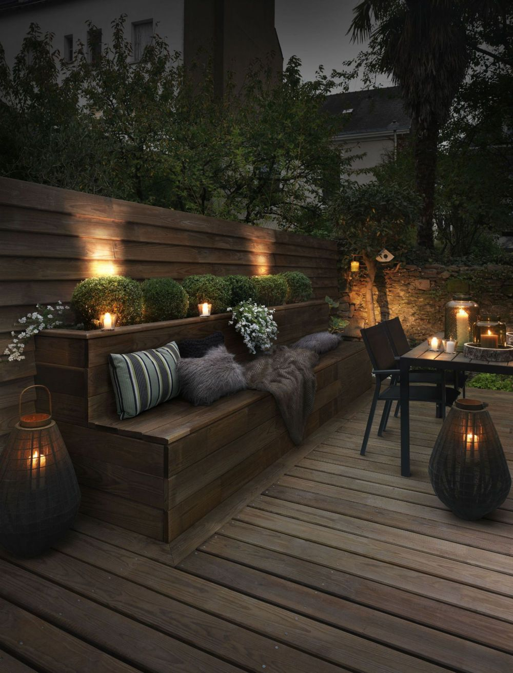 Amp up your backyard tempo with these lighting ideas
