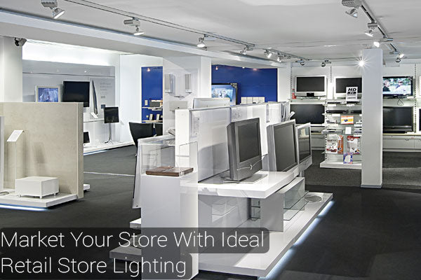 Draw customers in with perfect retail store lighting