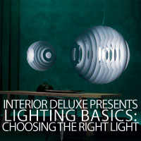 Lighting Basics: Choosing the right light