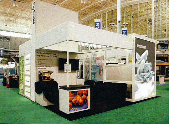 Expert Lighting for a Successful Trade Show Display