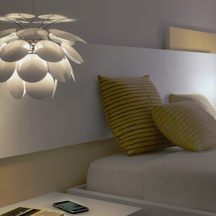 Jazz-up your bedroom lighting with these unconventional fixtures