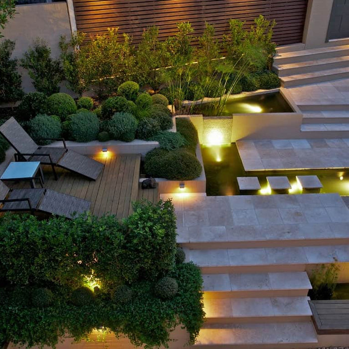 5 suggestions for accentuating your garden lighting