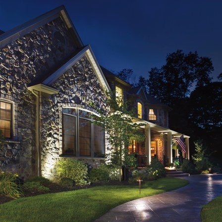 Landscape lighting for Outdoor remodeling