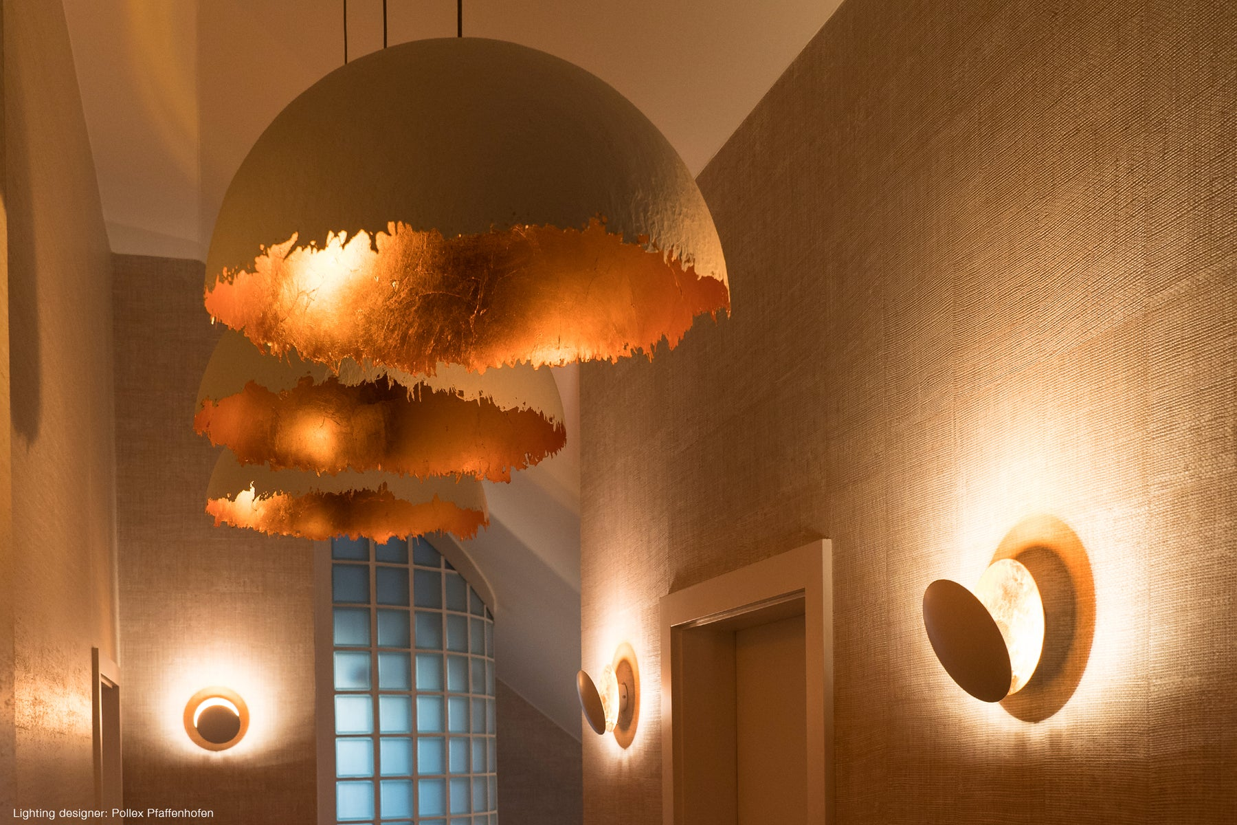 Contemporary ceiling lighting for modern Living room