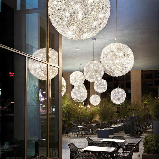 Fil de Fer Outdoor Pendant Light | Modern Lighting + Decor