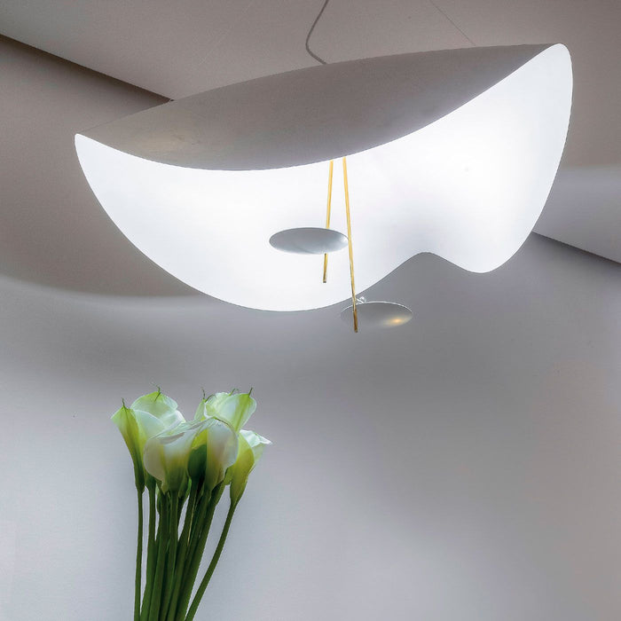 Buy online latest and high quality Lederam Manta S2 Pendant Light from Catellani & Smith | Modern Lighting + Decor