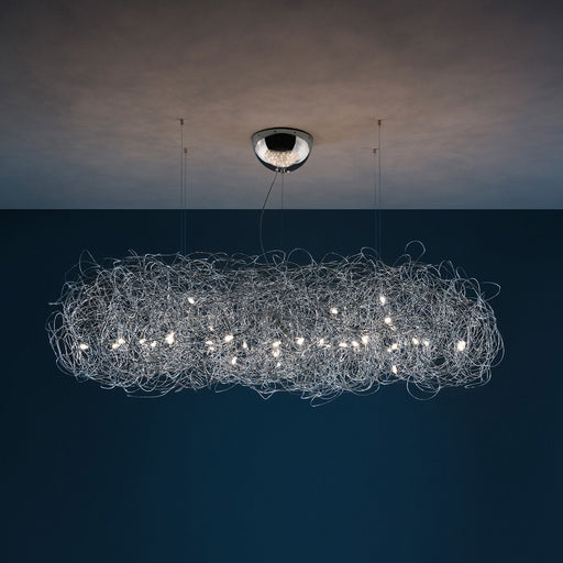 Fil de Fer Nuvola Pendant Light | Modern Lighting + Decor