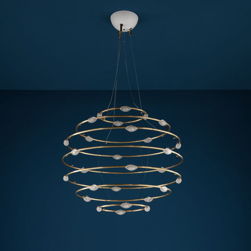 28 Petits Bijoux Chandelier from Catellani & Smith | Modern Lighting + Decor