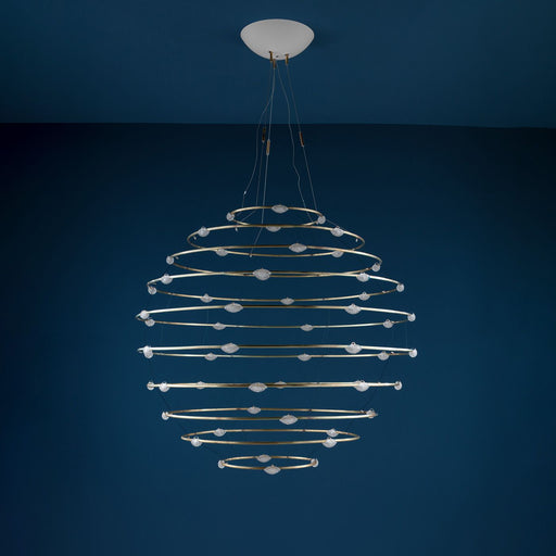 56 Petits Bijoux Chandelier from Catellani & Smith | Modern Lighting + Decor