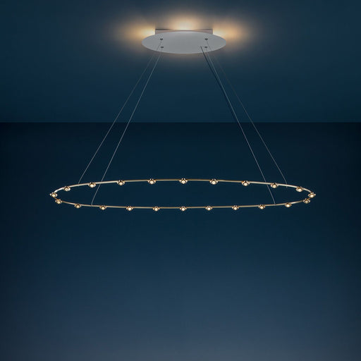 22 Petites Lentilles Chandelier from Catellani & Smith | Modern Lighting + Decor