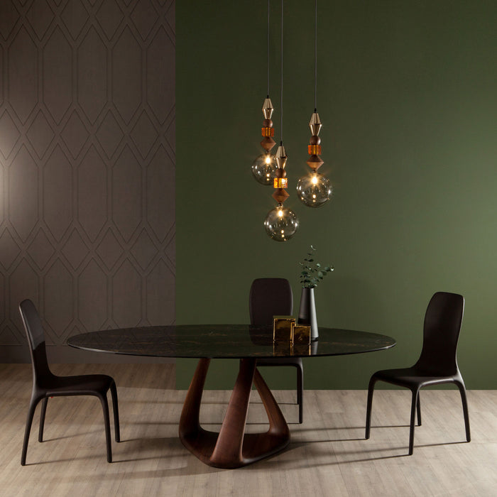 Buy online latest and high quality Rizoma Oval Round Dining Table from Tonin Casa | Modern Lighting + Decor