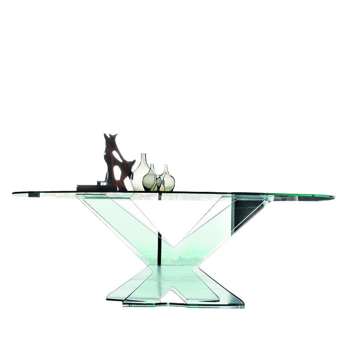 Ghost Rectangle Table from Tonin Casa | Modern Lighting + Decor