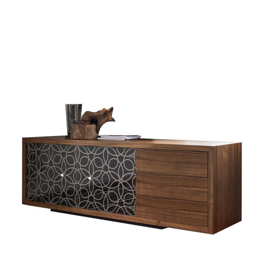 Granada Buffet, 2 Doors with 3 Drawers from Tonin Casa | Modern Lighting + Decor