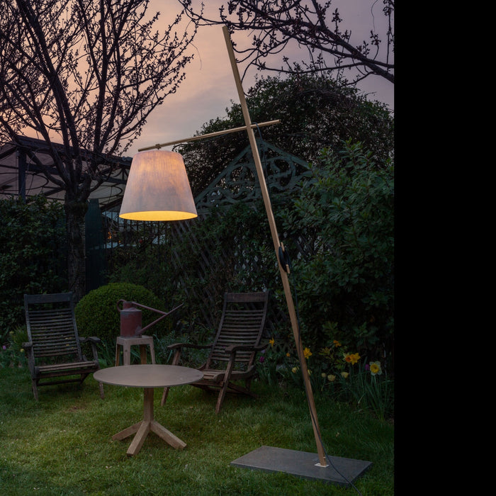 Buy online latest and high quality Miami F3 Outdoor Floor Lamp from Anton Angeli | Modern Lighting + Decor