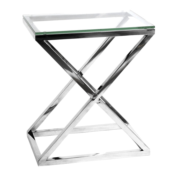 Buy online latest and high quality Side Criss Cross High Table from Eichholtz | Modern Lighting + Decor