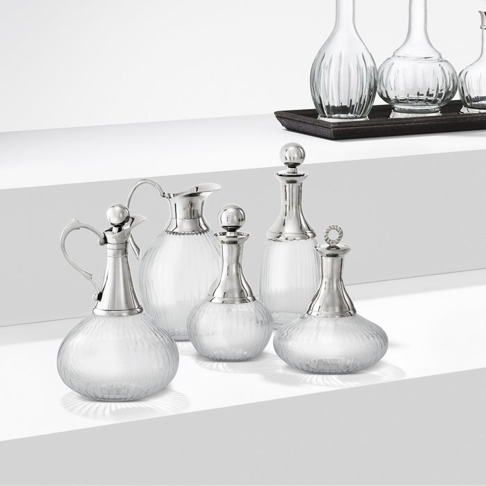 Branklyn set of 5 Decanter   by Eichholtz | Modern Lighting + Decor