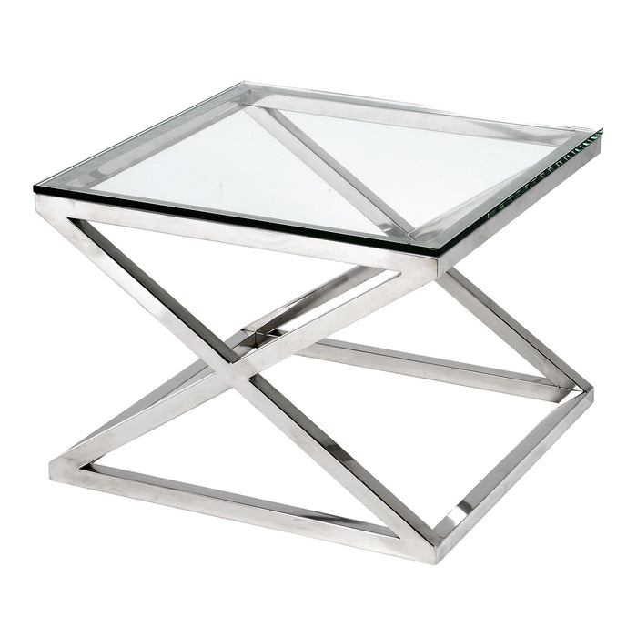 Side Criss Cross Table   by Eichholtz | Modern Lighting + Decor