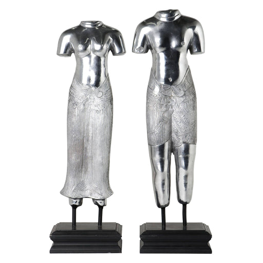 Thai Man & Lady set of 2 from Eichholtz | Modern Lighting + Decor