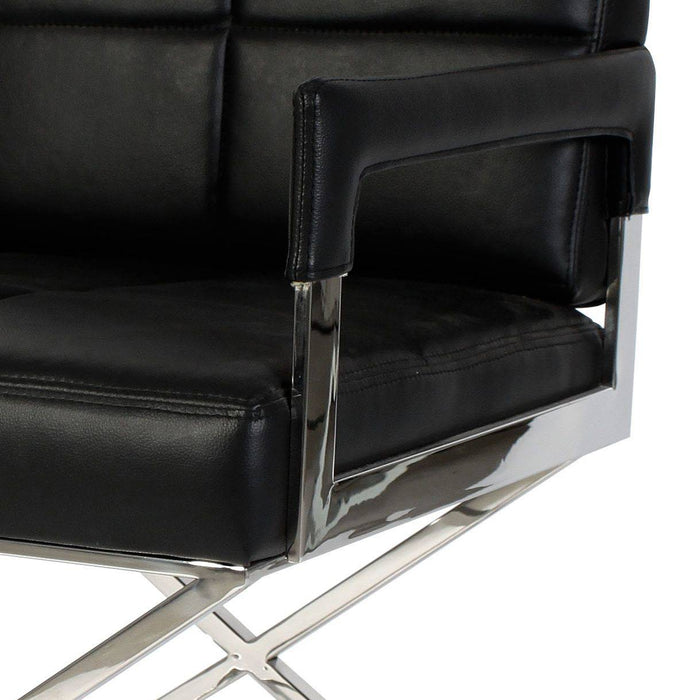 Buy online latest and high quality Desk Cross Chair from Eichholtz | Modern Lighting + Decor