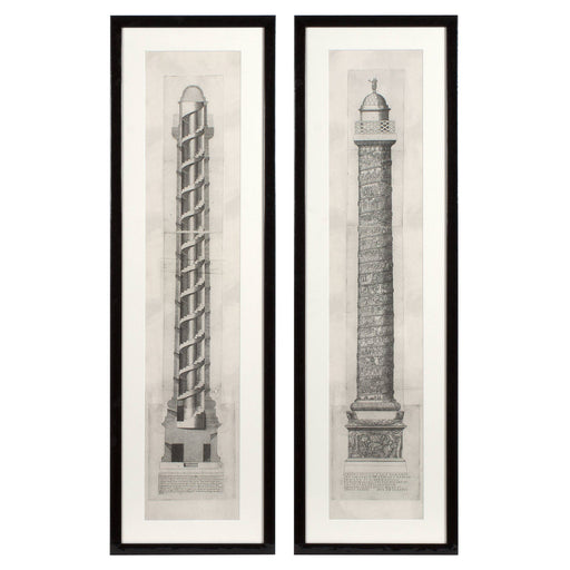 Columna set of 2 Prints   by Eichholtz | Modern Lighting + Decor